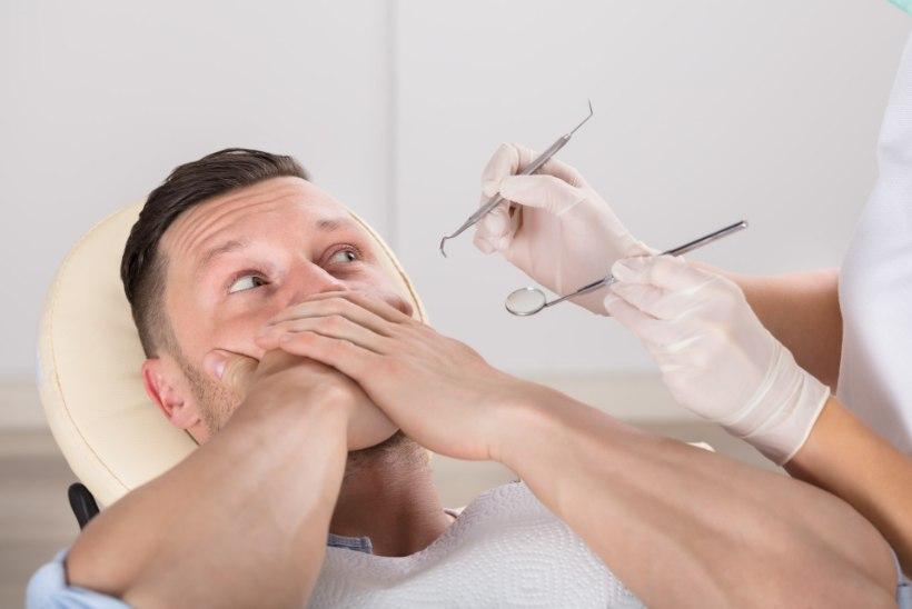 Hirm hambaarsti ees paneb inimesed hammaste ravimisel ihaldama üldnarkoosi