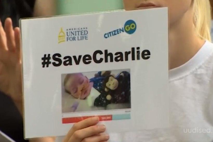 TV3 VIDEO   Briti kohus andis arstidele õiguse lülitada välja raskelt haige Charlie hingamisaparaat