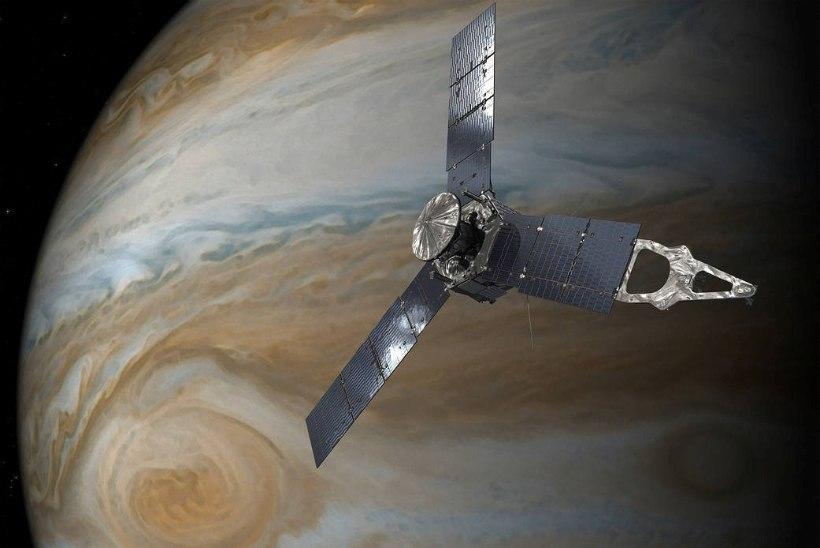 NASA sond pildistas ülilähedalt Jupiteri hiigeltormi