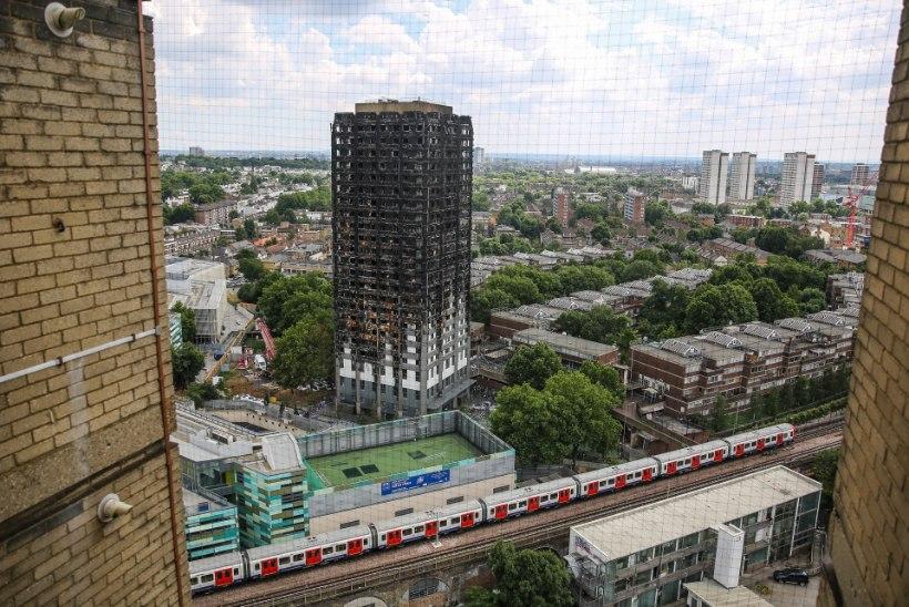 Londoni tulekahju ühel ohvril diagnoositi tsüaniidimürgitus