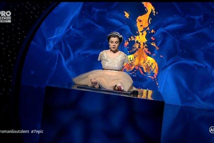 Rumeenia talendisaate võitjaks kuulutati väike käteta klaverikunstnik