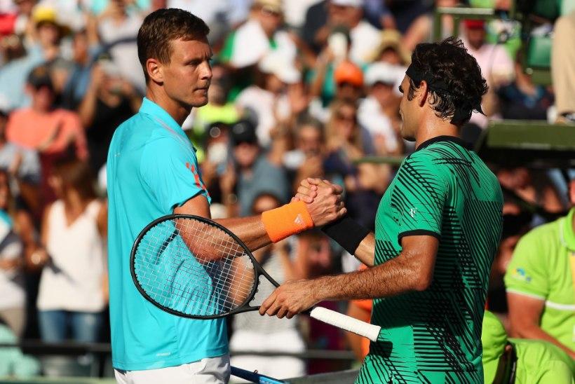Roger Federeri poolfinaalvastane: ta on tennisemaailma kõige vägevam!