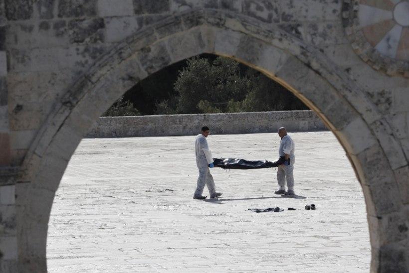 Jeruusalemmas hukkusid tulevahetuses kaks politseinikku