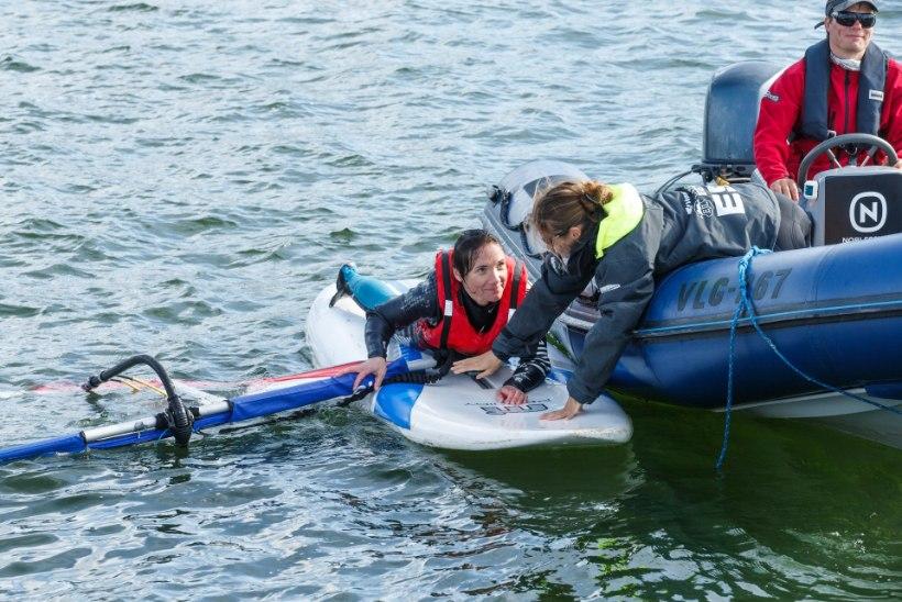 GALERII | Purjedega ratastoolid merepäevadel