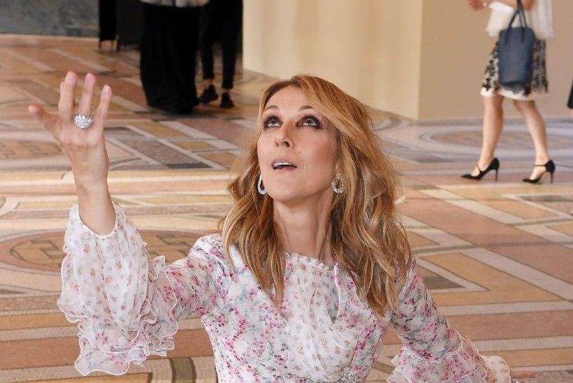 Ekspert: Céline Dioni riietus võib viidata psüühilistele probleemidele