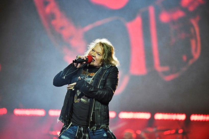 Guns N' Roses oli 2016. aasta edukaim bänd