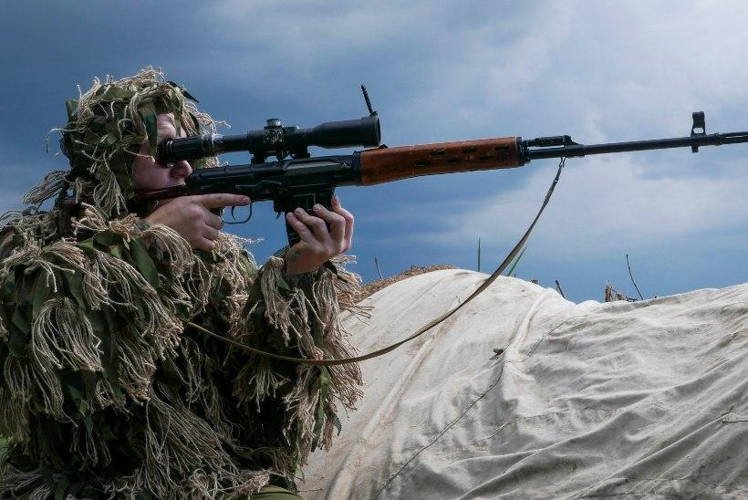 Ukraina sõjaväelased: separatistid kasutavad Venemaalt pärit uue põlvkonna lahingmoona