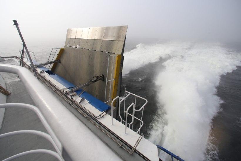 Tapjalained Tallinna lahel: laevaomanikud ja sadamad nõuavad kiirusepiirangut