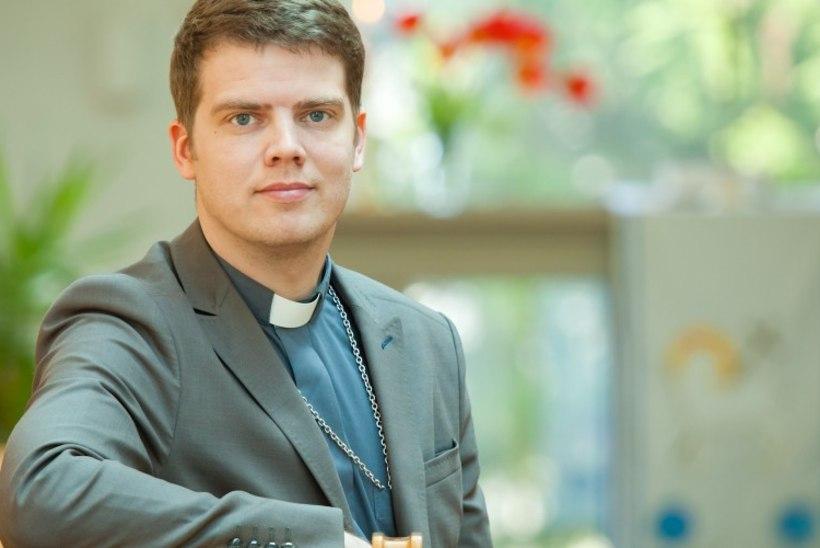 VIDEO   Viimsi Püha Jaakobi kiriku koguduse noore õpetaja Mikk Leedjärve arvates sobib rokk-kontsert ka pühakotta