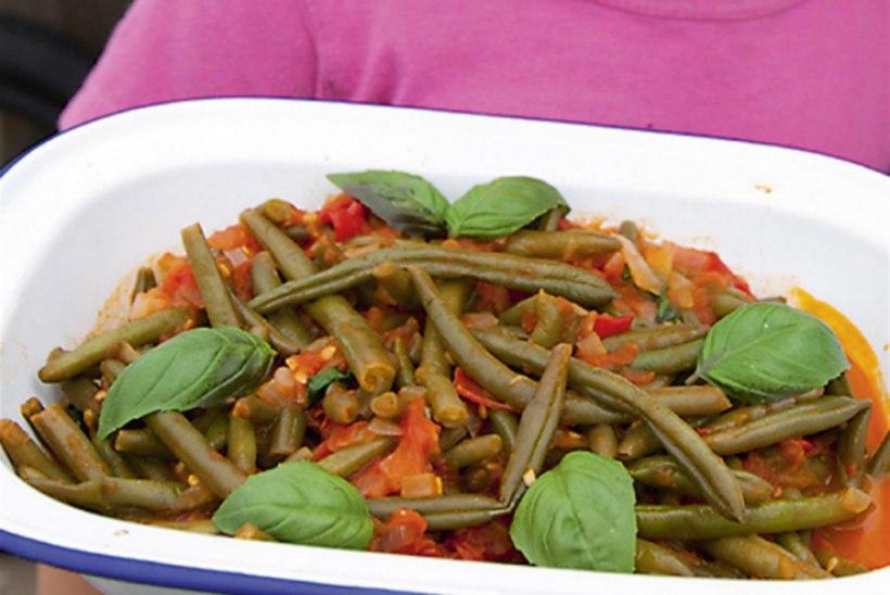 Rohelised oad tomatikastmes