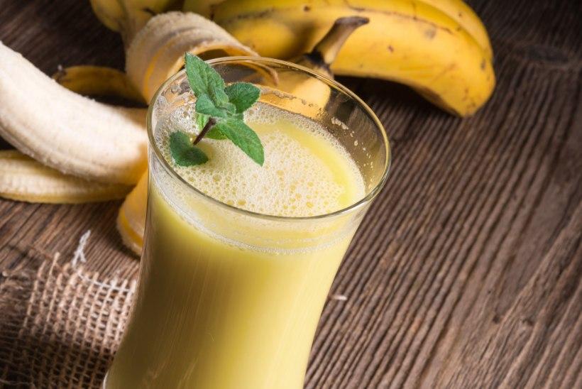 PEKID PÕLEMA: banaanijook, mis põletab kõhurasva särinal
