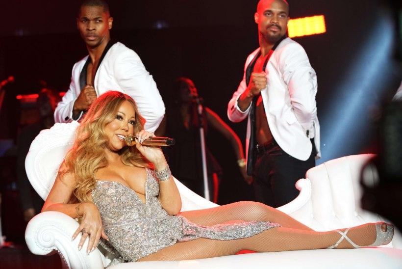 VAIMUSTAV VIDEO | Mariah Carey lihtsalt EI VIITSI tantsida!