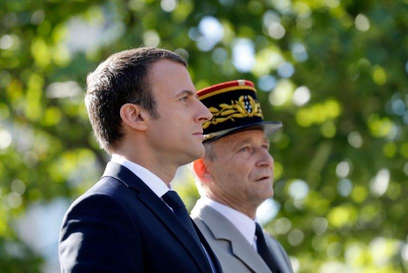 Prantsusmaa kaitseväe juhataja loobus eelarvekärpe pärast ametist