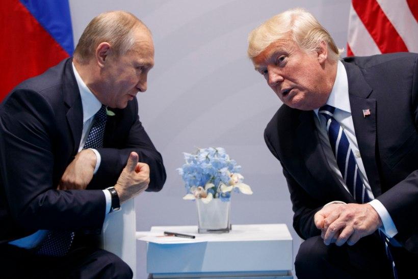 USA meedia: Trump vestles Saksamaal Putiniga kaks korda