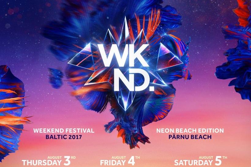 PILK PEALE! Weekend Festival Balticu ajakava on valmis