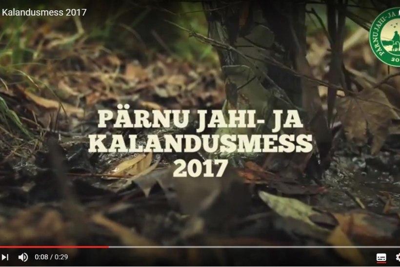 VIDEO: Pärnu jahi- ja kalandusmess 2017 28.-29. juulil