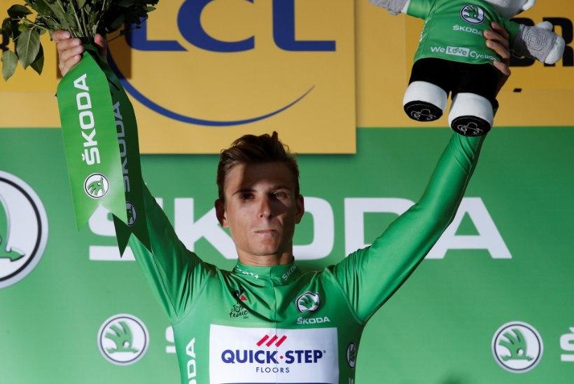 Viis etappi võitnud sprindikuningas Kittel lendas asfaldile ning katkestas Tour'i