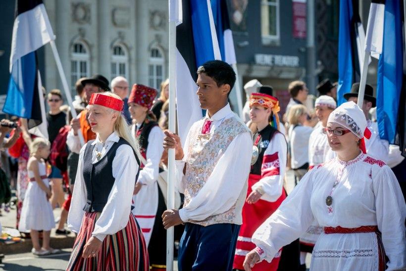 Laulupeo rongkäik piirab oluliselt Tallinna liikluskorraldust