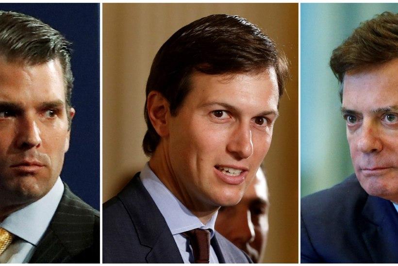 Donald Trump Jr., Jared Kushner ja Paul Manafort peavad senati ees tunnistusi andma