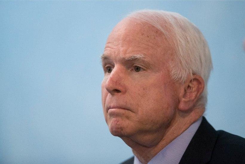 Senaator John McCainil diagnoositi ajukasvaja