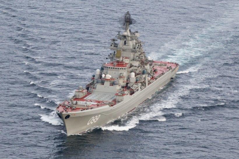 Venemaa korraldab Läänemeres jõudemonstratsiooni