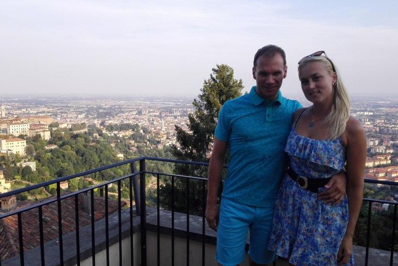 EKSKLUSIIVSED FOTOD | Kõrvuni armunud muusikust ärimees Olavi Otepalu põrutas värske kallimaga Itaaliasse