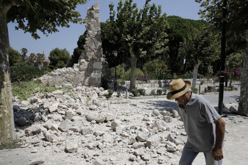 Kosi saarel hukkus tugevas maavärinas kaks turisti