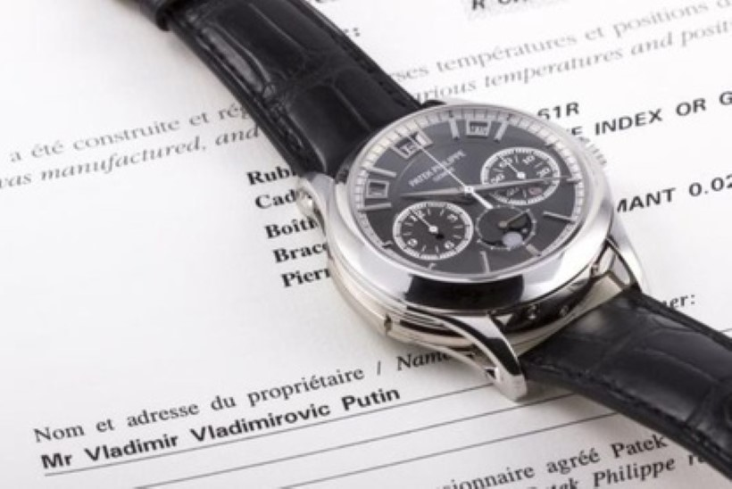 Putini käekell müüdi Monacos oksjonil miljoni euro eest
