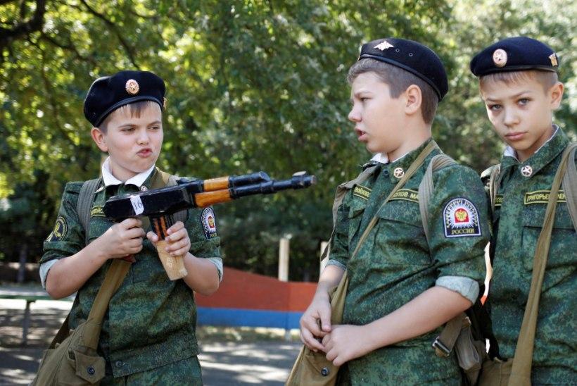 Vene ühiskonna militariseerimine jätkub, Karjalasse rajatakse kadetikool
