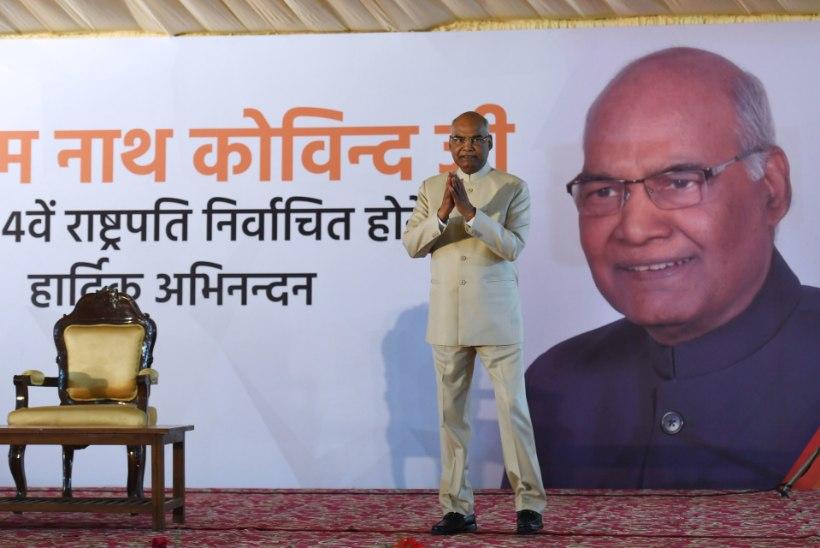 Miljardiriik India saab teist korda kastivälise riigipea