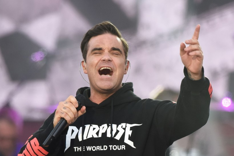 Robbie Williams vohmib magades maiustusi!