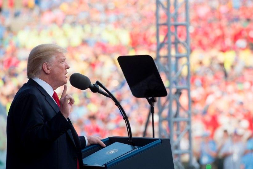 """""""Häid jõule!"""" 24. juulil: 7 kõige veidramat lauset Trumpi kõnest skautidele"""