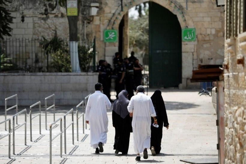FOTOD | Jeruusalemmas asuvalt Templimäelt eemaldati metallidetektorid