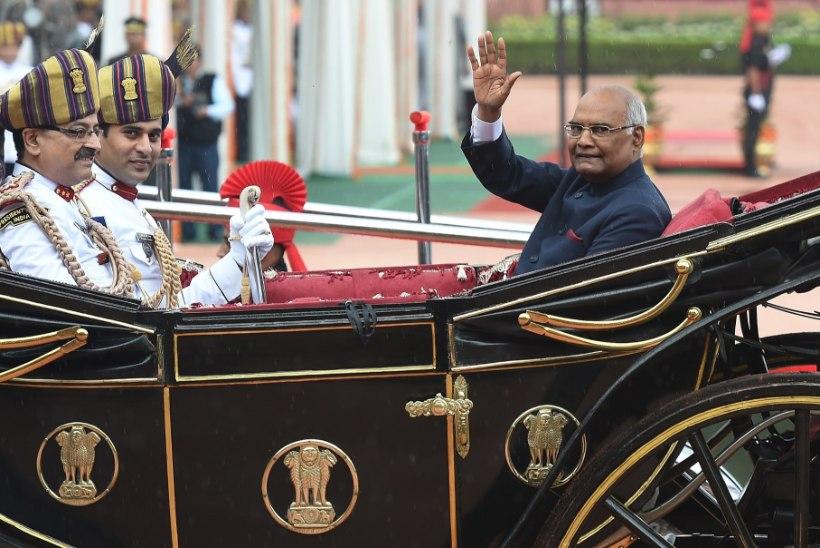HÄMMASTAV KARJÄÄR: India uus president tuleb mudaonnist