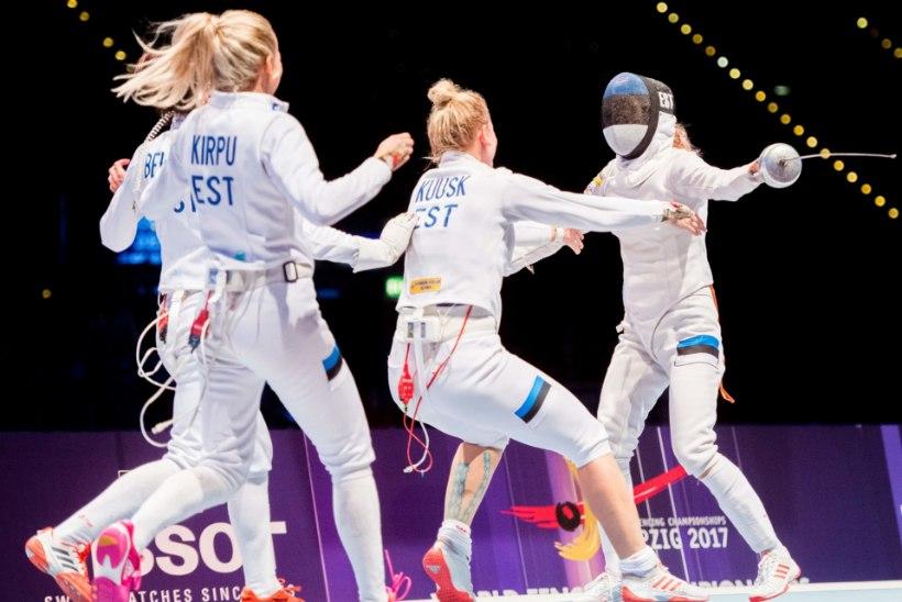 Imeline epeenaiskond nottis kaks kärbest ühe vehklusega: nopiti olümpiarevanš ning ajaloo esimene MM-tiitel!