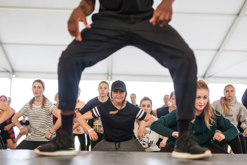 FOTOD | Rahvusvahelise tantsulaagri Camp of Hip-Hop avas Joel Juht