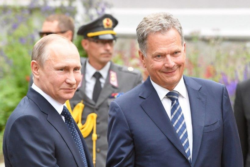 Putin saabus Soome kohtumisele hilinemisega