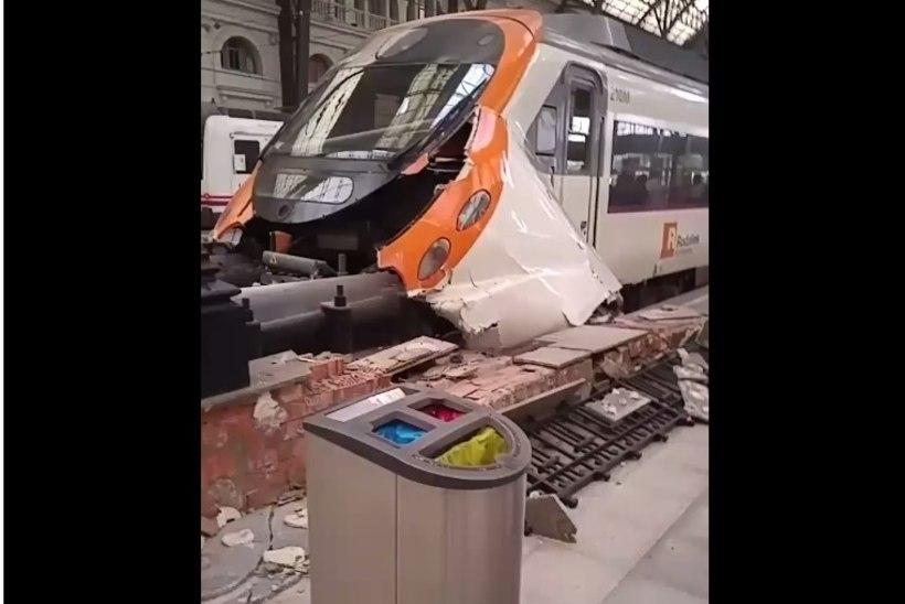 Barcelona rongiõnnetuses sai 48 inimest viga