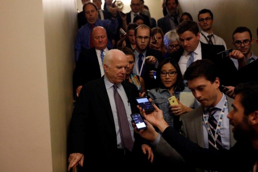 OBAMACARE'I PÄÄSTJA? John McCaini hääl rikkus vabariiklaste plaanid