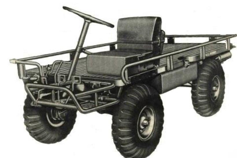ATV ehk kui jala ei jaksa ja maasturiga ei mahu