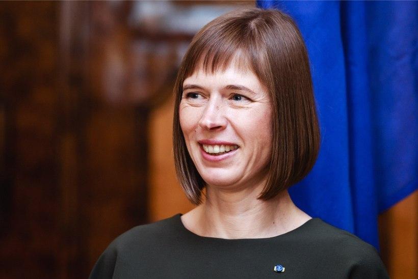 President Kaljulaid avastas suhtlusvõrgustiku rõõmud