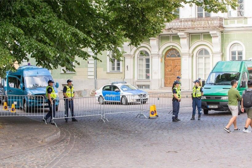 GALERII | Ühendriikide asepresident kohtus Stenbocki majas Eesti ministritega