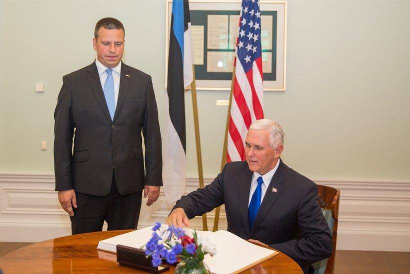 Eestit külastav Mike Pence valmistub ise USA presidendiks saama?