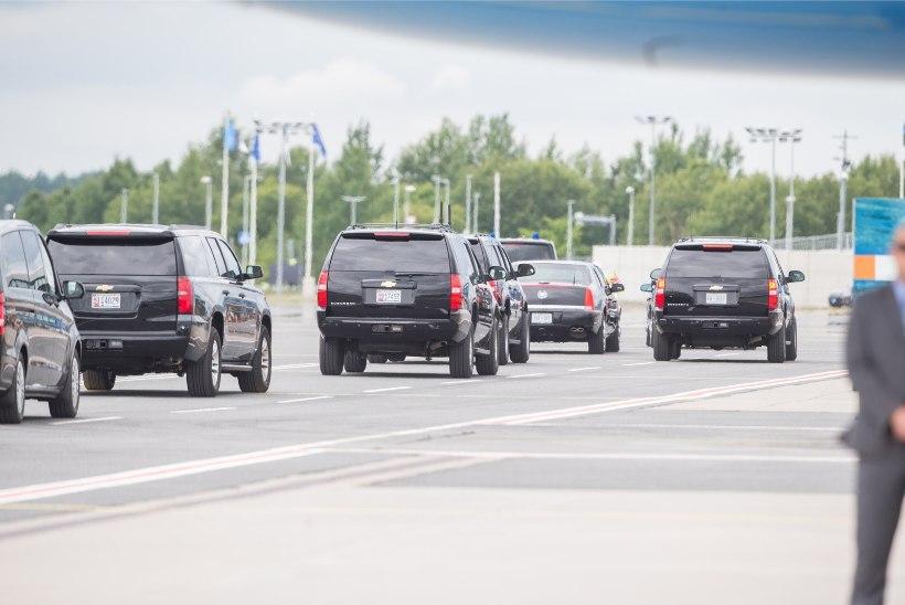 GALERII | USA asepresident saabus Eestisse kohtuma Balti riikide presidentidega