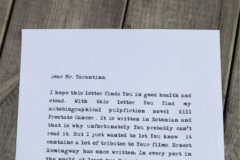 Onu Bella saatis oma raamatu Quentin Tarantinole