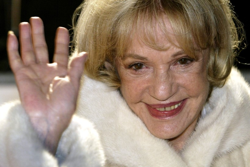 Suri prantsuse näitlejanna Jeanne Moreau