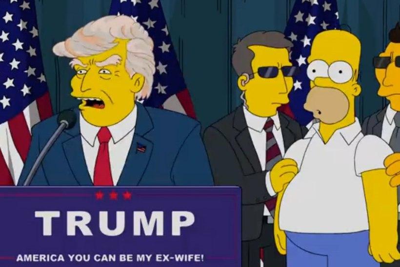 """""""Simpsonite"""" produtsendid saatsid Donald Trumpi pikalt!"""