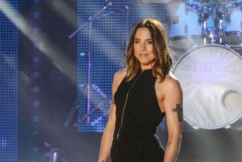 Spice Girlsi lauljatar on võimsalt musklis