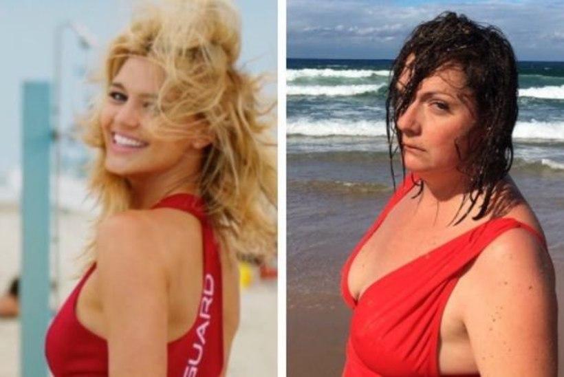 Kuumad puhkusekaadrid: mis juhtub siis, kui pontsakas proua poseerib kui modell?