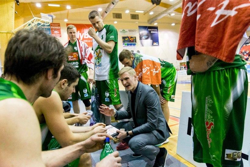 Valga korvpalli vedav Margus Lepik: püüame ikka ka Eesti liigas jätkata